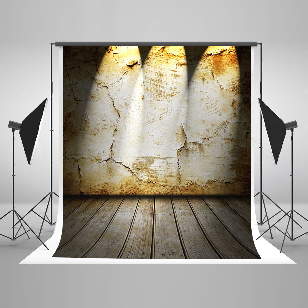 Kate Brick Wall Photography Backdrops Retro Wood Floor Indoor Backgrounds For Photo Studio Cotton Washable Backdrops photography backdrops wood grain adhesion wood brick wall backgrounds for photo studio floor 849