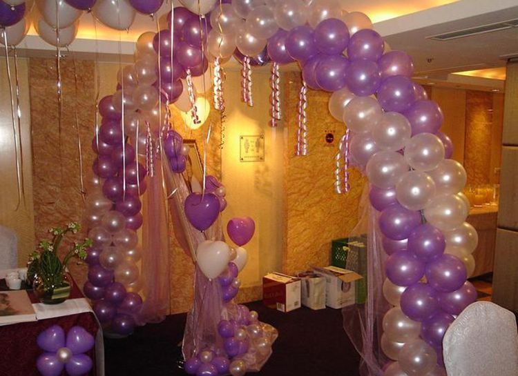 cheap 100pcs 10'' 1.2g Round Shape Latex Pearl Balloons Party Decorate Valentine's Day Happy Birthday Wedding Decoration Balloon 9