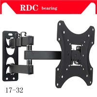Support 25KG Retractable Full Motion TV Wall Mount Bracket Wall Stand Adjustable Mount Arm Fit for Plasma Flat LED TV 17 32 A