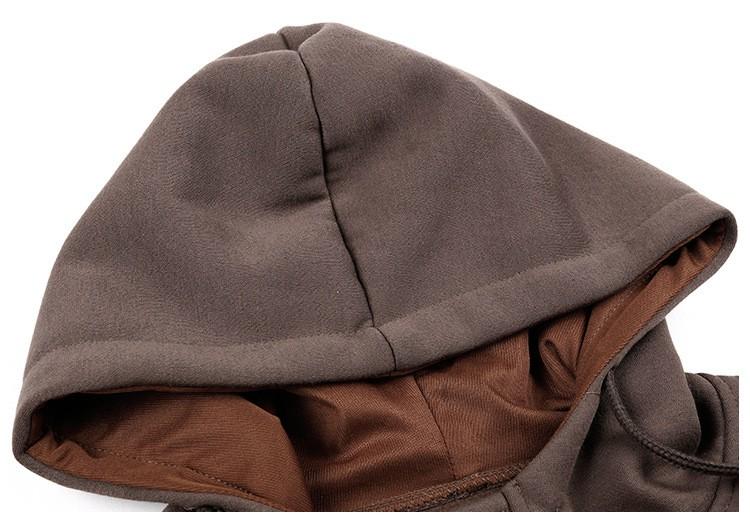JeeToo Men Hoodies 17 Casual Hoodies Men Fleece Fashion Hip Hop Warm Hoody Polo Mens Hoody Jacket Sweatshirt Mens Sweat Homme 21