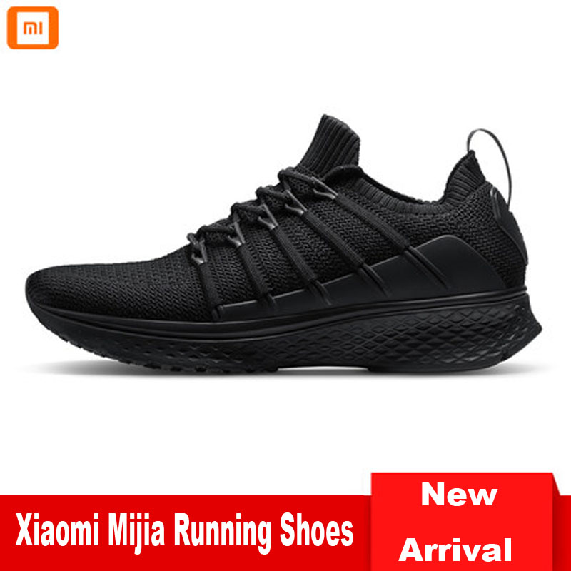 Newest Xiaomi Mijia Running Shoes Version II Men Sneakers Mesh Breathable Sports Shoes Light Weight Walking Shoes Lifestyle