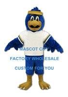 Синий Сокол Маскоты костюм для взрослых Размеры персонажа из мультфильма Орел Птица Маскоты te Маскоты наряд костюм маскарадный костюм под
