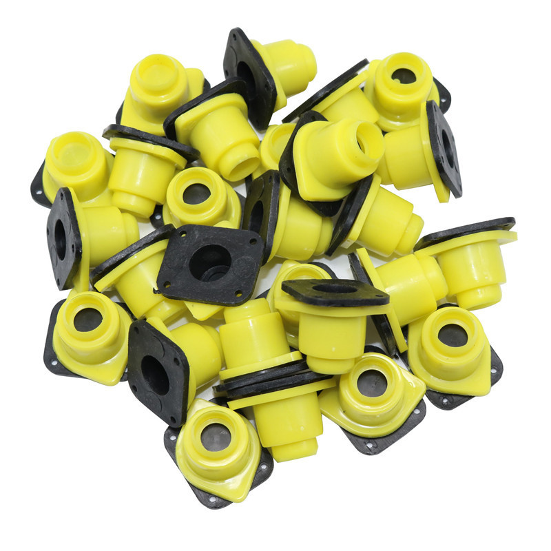 100 Pcs Plastic Beekeeping Tools Queen King Cage Accessories Bee Cage Fittings Guard Longwall Shield Queen Cage Cover Bee Tools