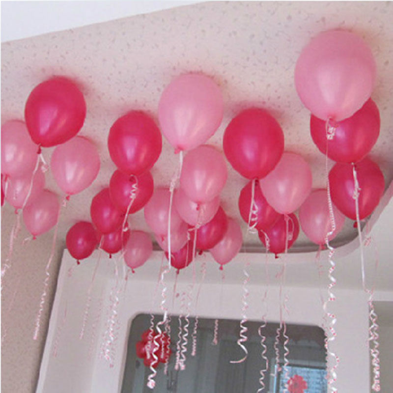 100 Pcs Inflatable Wedding Decoration 10 Inch 1.8g Latex Balloons Children Kids Birthday Party Air Baloon Hot Sale