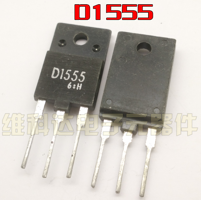 10pcs/lot 2SD1555 D1555 Transistor TO-3PF New Spot Quality Assurance