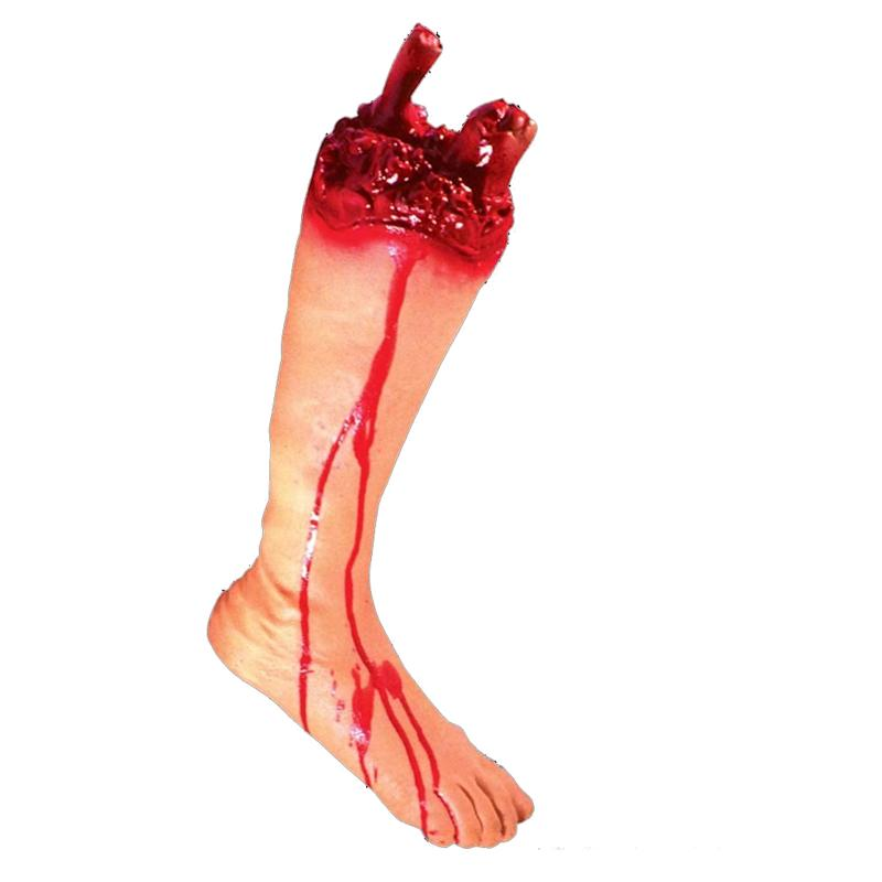 Halloween Party Prank Toys Scary Bloody Broken Body Parts Toys April Fool Prank Props Decorations Horror Gift ...