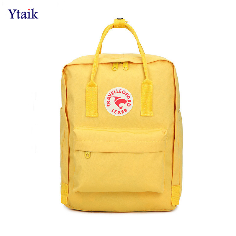 YTAIK 2018 New Student Mochila Backpack Children Waterproof Backpacks Classic Travel Bag for Girl Boy Backpack School Bags 2018 student backpack school bags for teenage girls mochila backpack waterproof rucksack student bag travel backpacks new