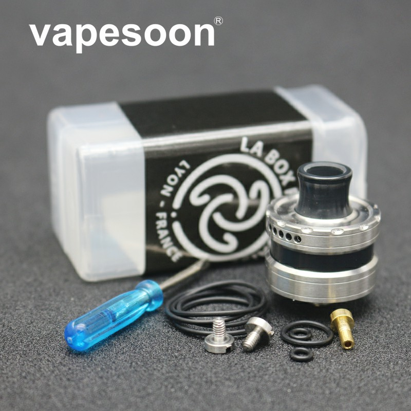 High Quality Rebuildable Dripper RTA Le Dripper Rda Rta 316 Stainless Steel With 22mm Diamter  Bf Pin Rebuildable Atomizer