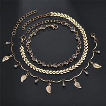 Vintage Anklets For Women Summer Beach Foot jewelry