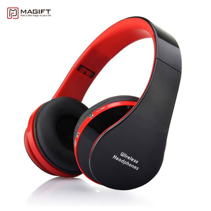 Magift Sports Gaming Wireless+Wired Bluetooth Headphone Stereo Headset with Mic for Laptop iOS Android PC Mobile Phone Music цена