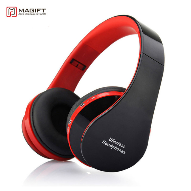 Magift Sports Gaming Wireless Wired Bluetooth Headphone Stereo Headset With Mic For Laptop Ios Android Pc Mobile Phone Music