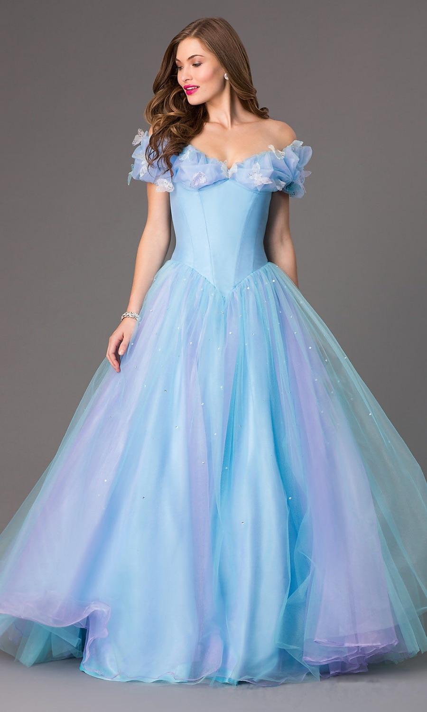Cinderella Ball Gown Prom Dress