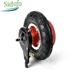 Sidofo ebikes scooter moto 200x50 motor do pneu para bicicleta motor 8 Polegada roda traseira kit de conversão ebike cinto hub motor