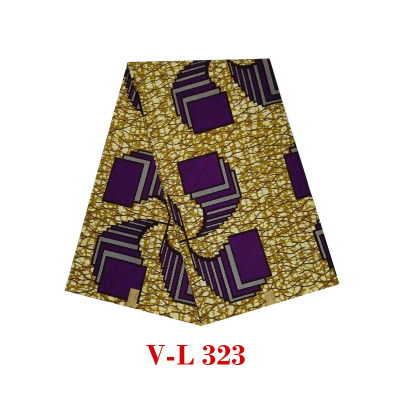 2019 The lastest design veritable Batik wax african dutch block guaranteed high quality new design V L 323 in Fabric Decorating from Home Garden