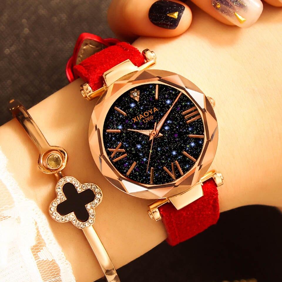 2018 Starry Sky Watch Women Minimalist Top Brand Luxury Wrist Watch For Ladies Female Clock Damski Montre Femme (1)