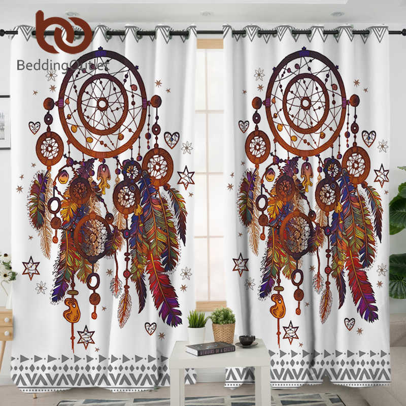 Beddingoutlet Dreamcatcher Living Room Curtain Hipster Watercolor Curtain For Bedroom Bohemia Window Treatment Drapes Home Decor Curtains Aliexpress