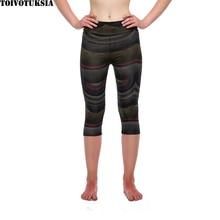 TOIVOTUKSIA  New Fashion Summer Women Casual Pants Female Skinny Pant Deportes Long Seven Short Capris Trouser