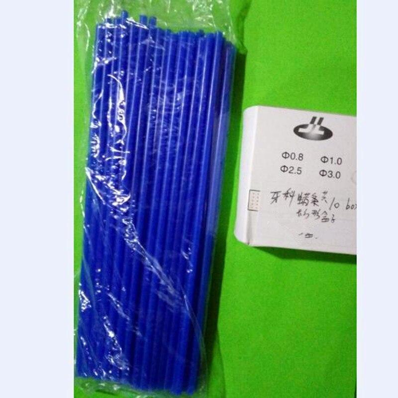 New 10 Box Dental Lab Material Wax Line Sprue Wax Stick Dental Wax Bar For Making