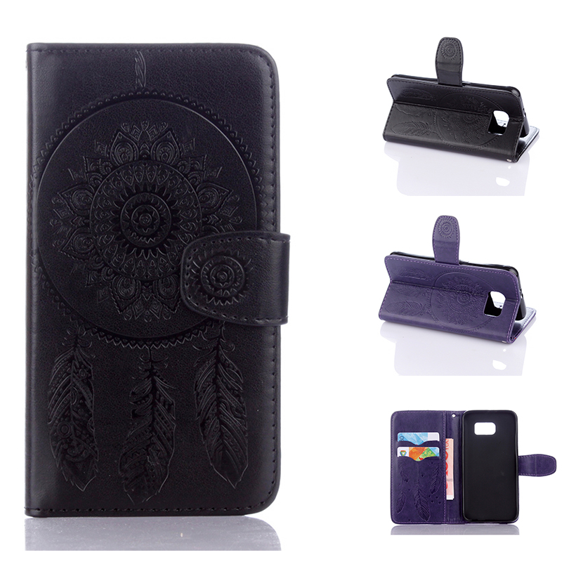 PU Leather Phone Cases Covers For Samsung Galaxy SVI G9200 S6 9208 9209 G920 G920F G920A Cases Wallet Style Skin Shell Housing