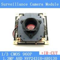 1 3MegaPixel 1280 960 AHD 960P Camera Module Circuit Board 1 3 CMOS NVP2431H AR0130 PCB