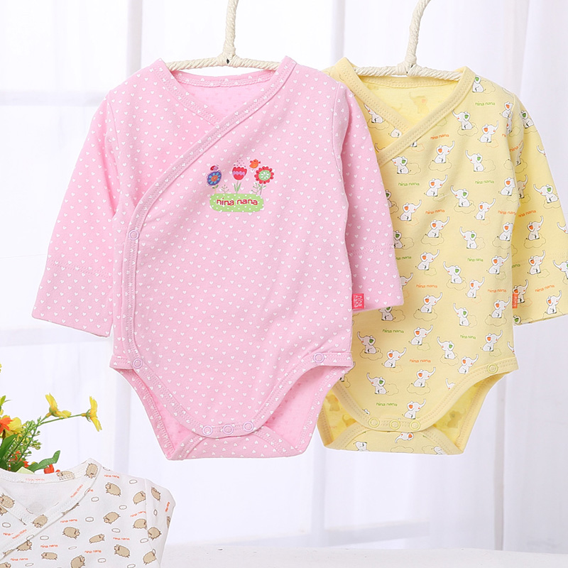 Baby bodysuit long sleeves baby pyjamas newborn baby boys girl clothes children clothing baby jumpsuit overalls