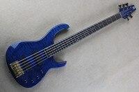 Бесплатная доставка 5 строка электрический бас Гитары, в возрасте модуля fb 5 бас 2006 Блошиный Signature Quilted клена.
