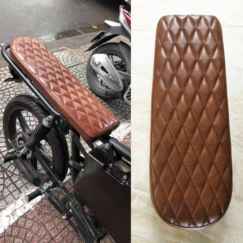 Decals & Stickers Motorbike Accessories Devoted Black Brown Motorcycle Rubber Vintage Gas Tank Knee Pads Side Panel Traction Pad Sticker For Harley Cafe Racer Classic Universal