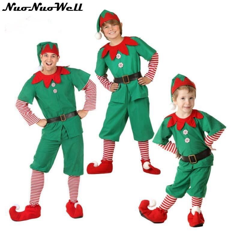 Christmas Tree Dress Costume: New Adult Men Christmas Tree Cosplay Dress Halloween