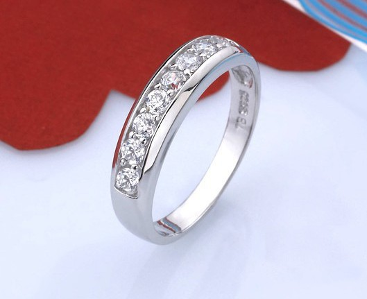 Unisex Silver Engagement Ring Men Jewelry Bague Womens Wedding Rings Anello Donna A Gift For The New Year Herrenringe YR022-5