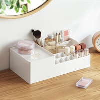 Plastic Storage Box Makeup Organizer Case Drawers Cosmetic Display Storage Organizer Office Sundries Container Boxes