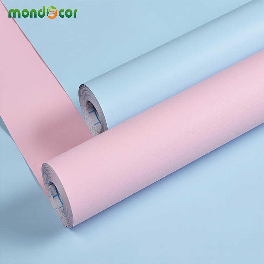 מוצק מאט מטבח ארון ארון עצמי דבק טפט רול ויניל ריהוט קיר מדבקות PVC DIY מגע דקורטיבי נייר