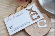 Personalizado/personalizado Impresión de dos lados personalizar papel mate visita Nombre Pantalla tarjeta de visita impresión