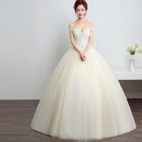 LOVSKYLINE Real Photo Luxury Lace Ball Wedding Dresses 2018 Customized Plus Sizes Vintage Bridal Gown Vestido de Noiva