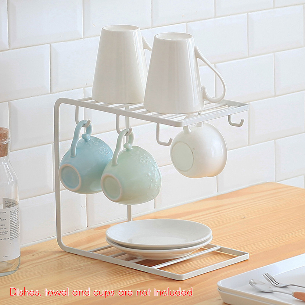 Permalink to Kitchen Cabinet Counter Shelf Organizer Stackable Multifunctional Bowl Plate Dish Cup Drainer Kitchen Accessorie 2019 New