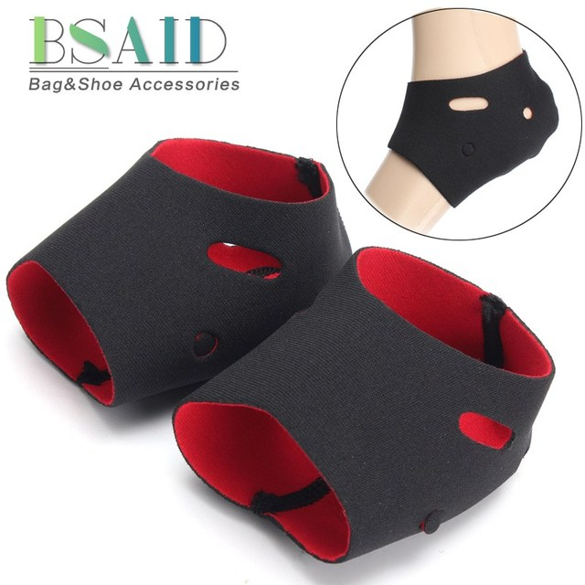 e7c39642849 US $3.69 12% OFF BSAID 1 Pair Heel Shoe Insoles Foam Rubber Heels Pads Heel  Protector Covers Relief Pain Foot Pad Inserts Breathable Heels Cuffs-in ...