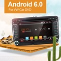 Quad Core Android 6.0 автомагнитола dvd gps 2Din 7 Дюймов Для Volkswagen VW Skoda POLO PASSAT B6 CC TIGUAN ГОЛЬФ 5 Fabia Wi-Fi Cam