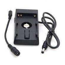 แผ่นแบตเตอรี่อะแดปเตอร์แหล่งจ่ายไฟสำหรับ SONY BP U60 BPU30 ถึง BlackMagic BMPC BMCC BMPCC กล้อง