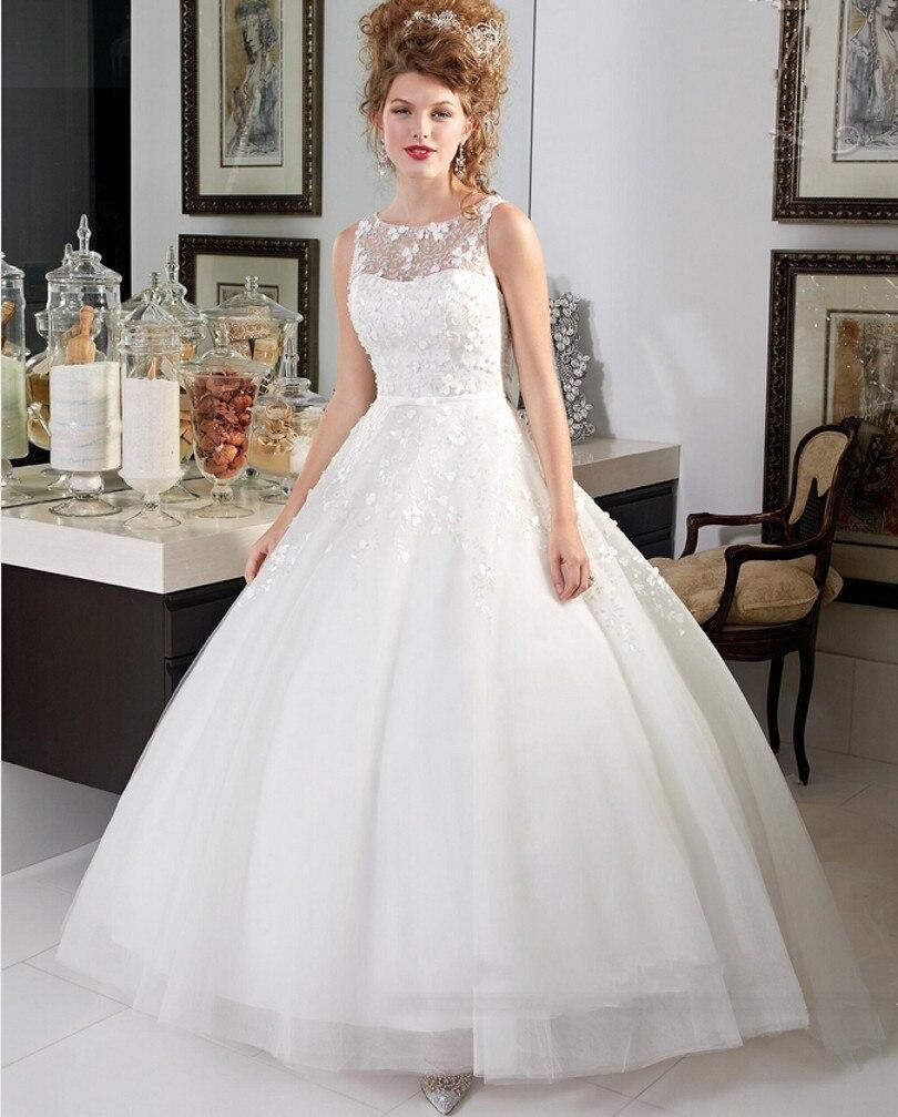 2016 Designers Ball Gown Sexy Wedding Dress Elegant