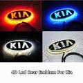 1 шт. 4D Привело Задние Эмблема Автомобиль Логотип Света для Kia K5 Sorento Душа Форте Cerato Автомобильные Светодиодные Знак Лампы Автомобиля укладки