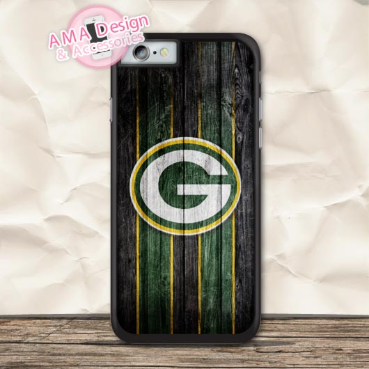 Green Bay Packers Football Case For iPhone X 8 7 6 6s Plus 5 5s SE 5c 4 4s For iPod Touch