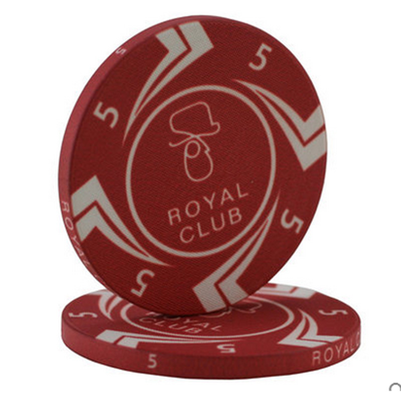 10 PCS/LOT Poker Chips 10g Ceramic+Iron+ABS Macao Chips Texas Holdem Poker Wholesale Royal Club Free Shipping