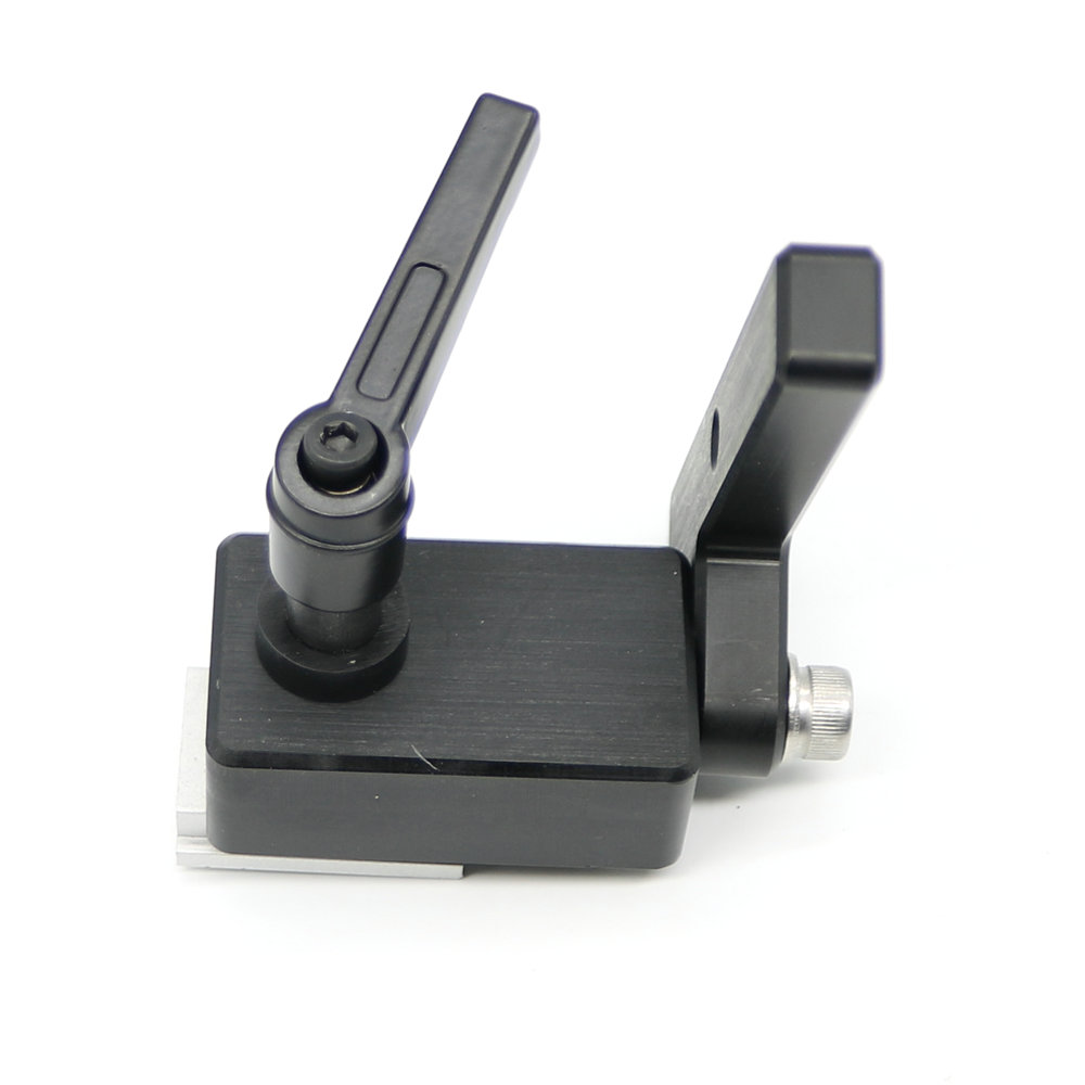 Woodworking DIY Tools Miter Track Stop For T-Slot T-Tracks Manual Durable In Use 2pcs woodworking diy tool miter track stop for t track t slot jf1103