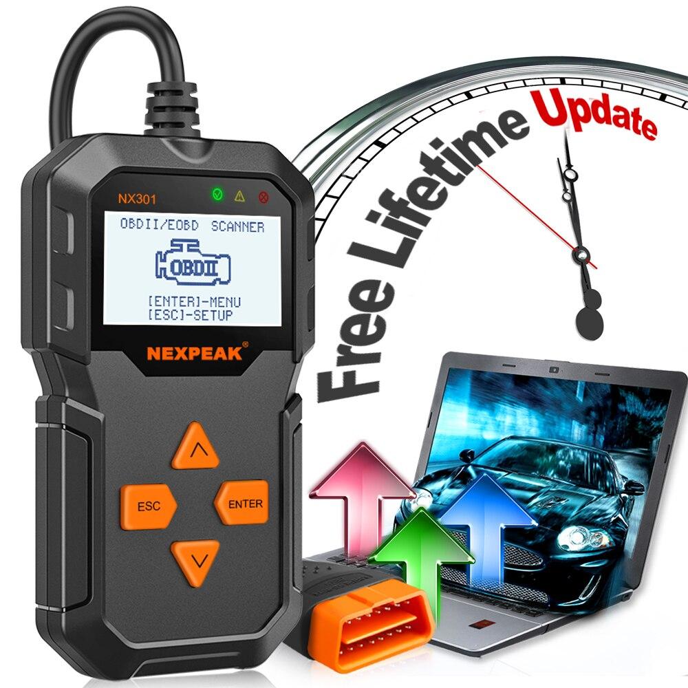 Image 2 - OBD2 автомобильный диагностический сканер полный OBD режимы сканирования инструменты считыватель кодов автомобиля диагностический Автомобиль ODB 2 Pk AD310 ELM327-in Считыватели кодов и сканирующие инструменты from Автомобили и мотоциклы