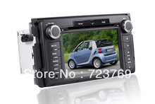 Car DVD Player GPS Navigation System Auto Radio Autoradio Media Stereo for Mercedes-Benz Smart Fortwo (2006-2010)