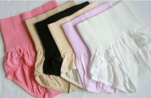 Seamless buttock-abdomen in pants triangular pants lady beam waist belt in the model of tall waist shorts