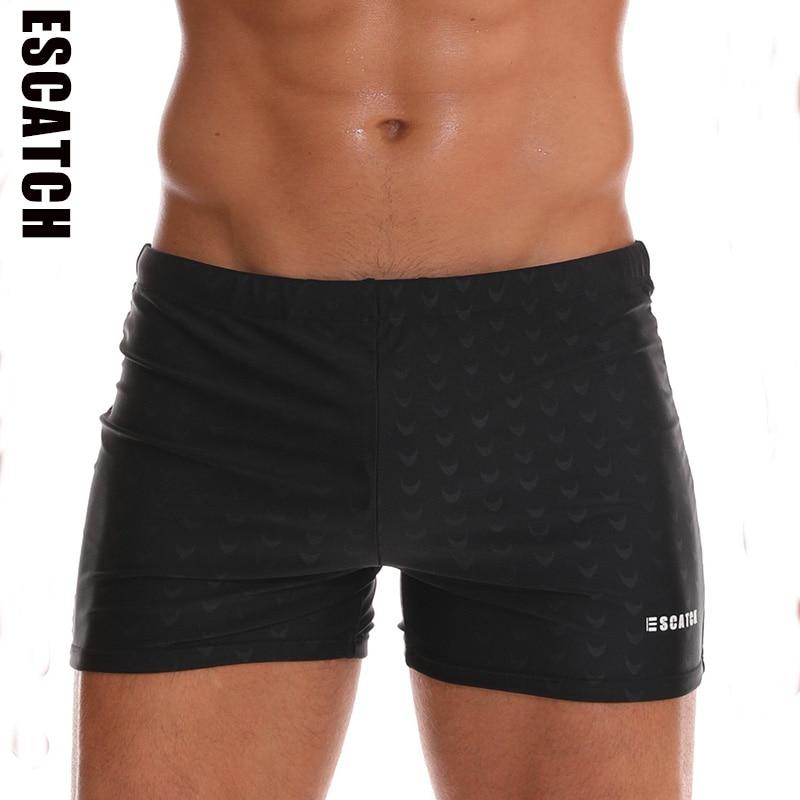 Swimwear Men's Shorts Swimming-Trunks Waterproof Sharkskin New Quick-Drying