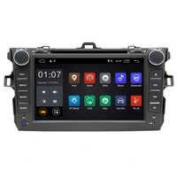 """8 """"Android 8,1 reproductor de DVD de navegación GPS del coche para Toyota Corolla 2006 a 2007, 2008, 2009, 2010, 2011 raido color kids estéreo con SWC BT wifi"""