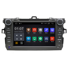 8 Android Car DVD Player GPS Navigation For Toyota Corolla 2006 2007 2008 2009 2010 2011 car raido stereo with SWC BT 3g wifi