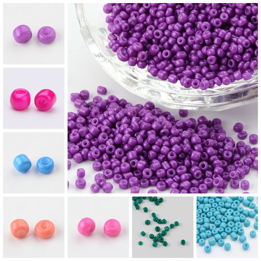 Royal Blue Seed Beads 450g 11//0 2mm With 1mm Hole silver lined