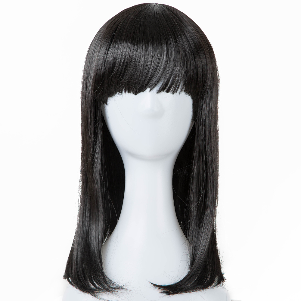 Black Wigs Fei-show Synthetic Heat Resistant Fiber Wavy Child Hair Light Brown 44 Cm Head Circumference For 4-10 Year-old Girls Synthetic None-lacewigs Synthetic Wigs